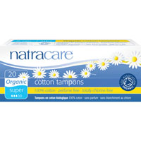 Natracare - Organic All Cotton Tampons