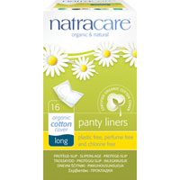Natracare - Panty Liners - Long (Wrapped)