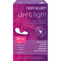 Natracare - Dry & Light Natural Pads