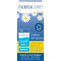 Natracare - Organic All Cotton Tampons (with applicator)