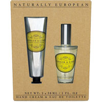 Naturally European - Ginger & Lime Hand Cream & Eau De Toilette