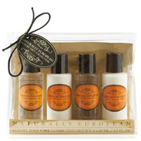 Naturally European - Neroli & Tangerine Travel Collection