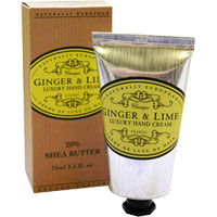 Naturally European - Ginger & Lime Luxury Hand Cream
