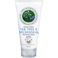 Napiers - Tea Tree & Goldenseal Balancing Cream