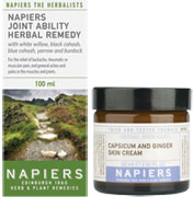 Napiers - Joint Ability  & Capsicum Cream Duo
