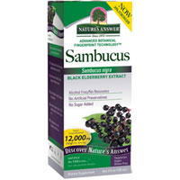 Natures Answer - Sambucus Black Elderberry