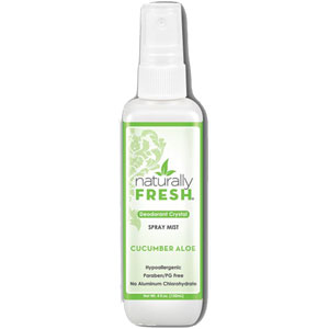 Naturally Fresh - Deodorant Crystal Spray Mist - Cucumber Aloe