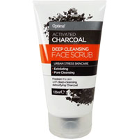 Optima - Activated Charcoal Face Scrub