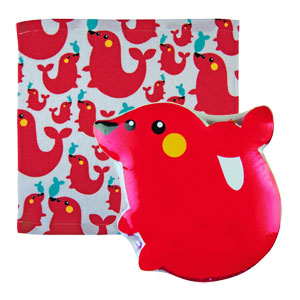 Opal London - Animal Magic Face Cloth - Seal