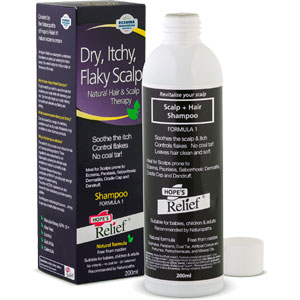 Beauty Naturals - Hope's Relief - Dry, Itchy, Flaky Scalp Shampoo