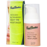 Avocado & Cranberry Night Time Moisturiser|27.5000|27.5000