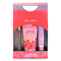 Pacifica - Take Me There Gift Set - Hawaiian Ruby Guava