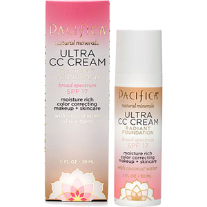 Pacifica - Ultra CC Cream Radiant Foundation - Natural / Medium