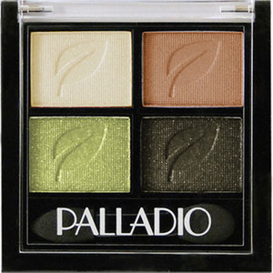Palladio - Herbal Eyeshadow Quad - Green To Go