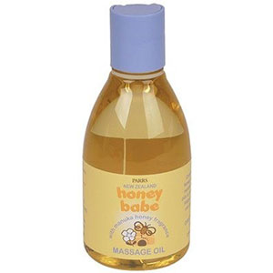 Parrs New Zealand - Honey Babe Massage Oil