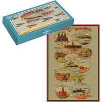 Mr Pulteney's - Aeroplane Race Board Game