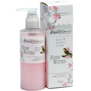 Rose & Co - Rosewater Bath & Shower Creme