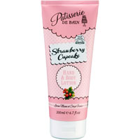 Patisserie De Bain - Strawberry Cupcake Hand & Body Lotion