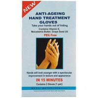 Skin Benefits - Anti -Ageing Hand Treatment Gloves