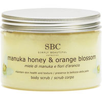 SBC - Manuka Honey & Orange Blossom Body Scrub
