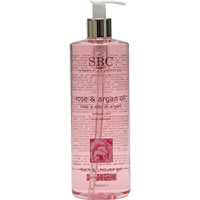 SBC - Rose & Argan Oil Bath and Shower Gel