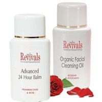 Skin Revivals Organic Facial Care Duo|28.0000|24.0000