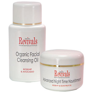 Skin Revivals - Skin Revivals Organic Skin Care Duo (SR16 + SR17)