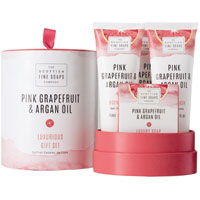 Scottish Fine Soaps - Pink Grapefruit & Argan Oil Luxurious Gift Set