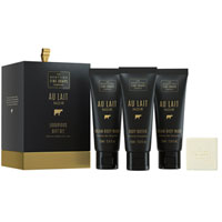 Scottish Fine Soaps - Au Lait Noir Luxurious Gift Set