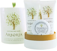 Scottish Fine Soaps - Arboria Luxurious Essential Gift Drum