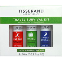 Tisserand Aromatherapy - Travel Survival Kit