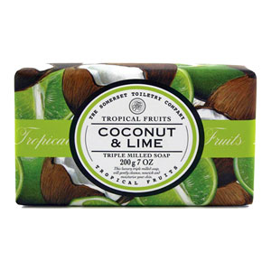 Tropical Fruits - Coconut & Lime Triple Milled Soap