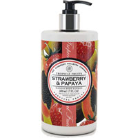 Tropical Fruits - Strawberry & Papaya Hand & Body Lotion