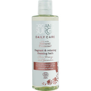Organic Surge - Clove, Orange & Geranium  Foaming Bath