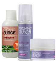 Organic Surge - Organic Surge Face and Body Trio