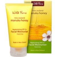 Wild Ferns New Zealand Manuka Honey - Manuka Honey Replenishing SPF15 Facial Moisturiser