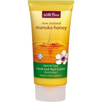 Wild Ferns New Zealand Manuka Honey - Manuka Honey Hand & Nail Creme