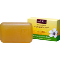 Wild Ferns New Zealand Manuka Honey - Manuka Honey Pure and Gentle Soap