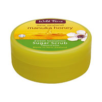 Wild Ferns New Zealand Manuka Honey - Manuka Honey Sweet Sensation Sugar Scrub