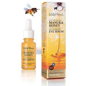 Wild Ferns Pure New Zealand - Manuka Honey Active Repair Eye Serum
