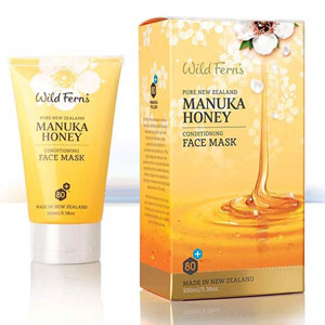 Wild Ferns New Zealand Manuka Honey - Manuka Honey Conditioning Face Mask