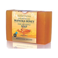 Wild Ferns Pure New Zealand - Manuka Honey Pure and Gentle Soap