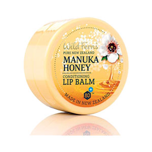 Wild Ferns Pure New Zealand - Manuka Honey Conditioning Lip Balm