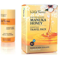 Wild Ferns Pure New Zealand - Manuka Honey Essentials Travel Pack