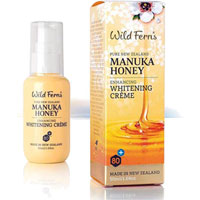 Wild Ferns New Zealand Manuka Honey - Manuka Honey Enhancing Whitening Cream