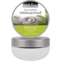Wild Ferns New Zealand Rotorua Mud - Rotorua Mud Body Scrub