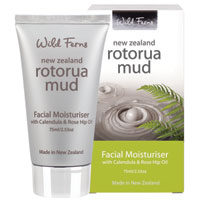 Wild Ferns New Zealand Rotorua Mud - Rotorua Mud Facial Moisturiser