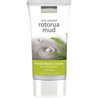 Wild Ferns New Zealand Rotorua Mud - Rotorua Mud Facial Wash Creme