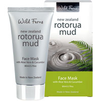 Wild Ferns New Zealand Rotorua Mud - Rotorua Mud Face Mask