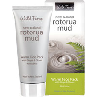 Wild Ferns New Zealand Rotorua Mud - Rotorua Mud Warm Face Pack